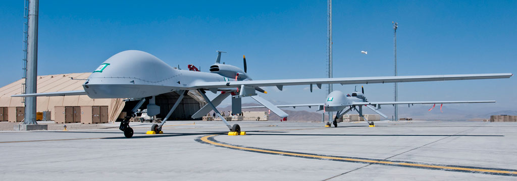 Two Gray Eagle UAS