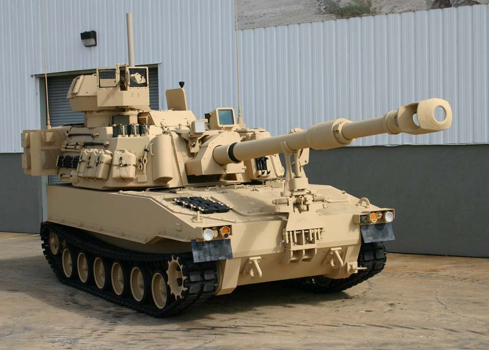 Self-Propelled Howitzer Paladin
