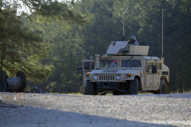 Humvee training set integrated with components of CS 13