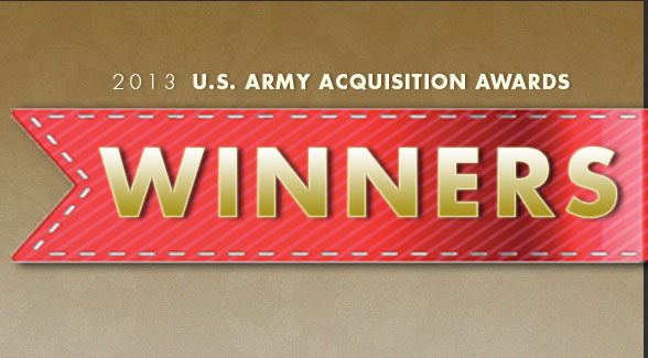 2013 U.S. Army Acquisition Awards Winners