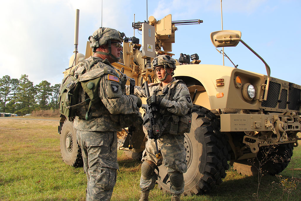 Soldiers from the 2nd Brigade Combat Team