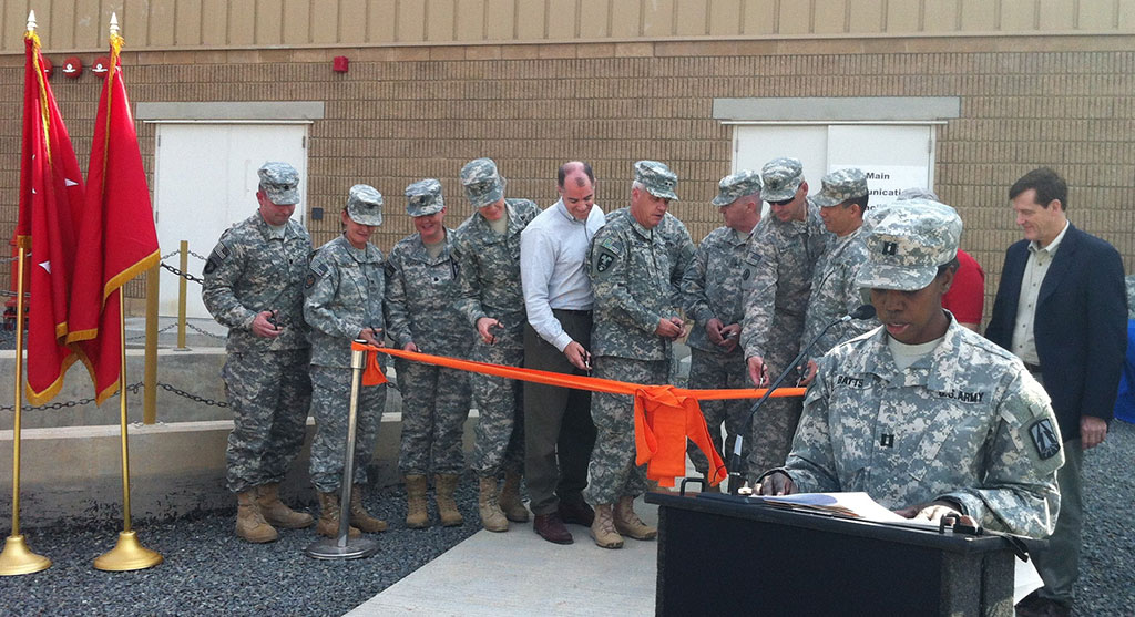MCF Ribbon Cutting at Camp Arifjan