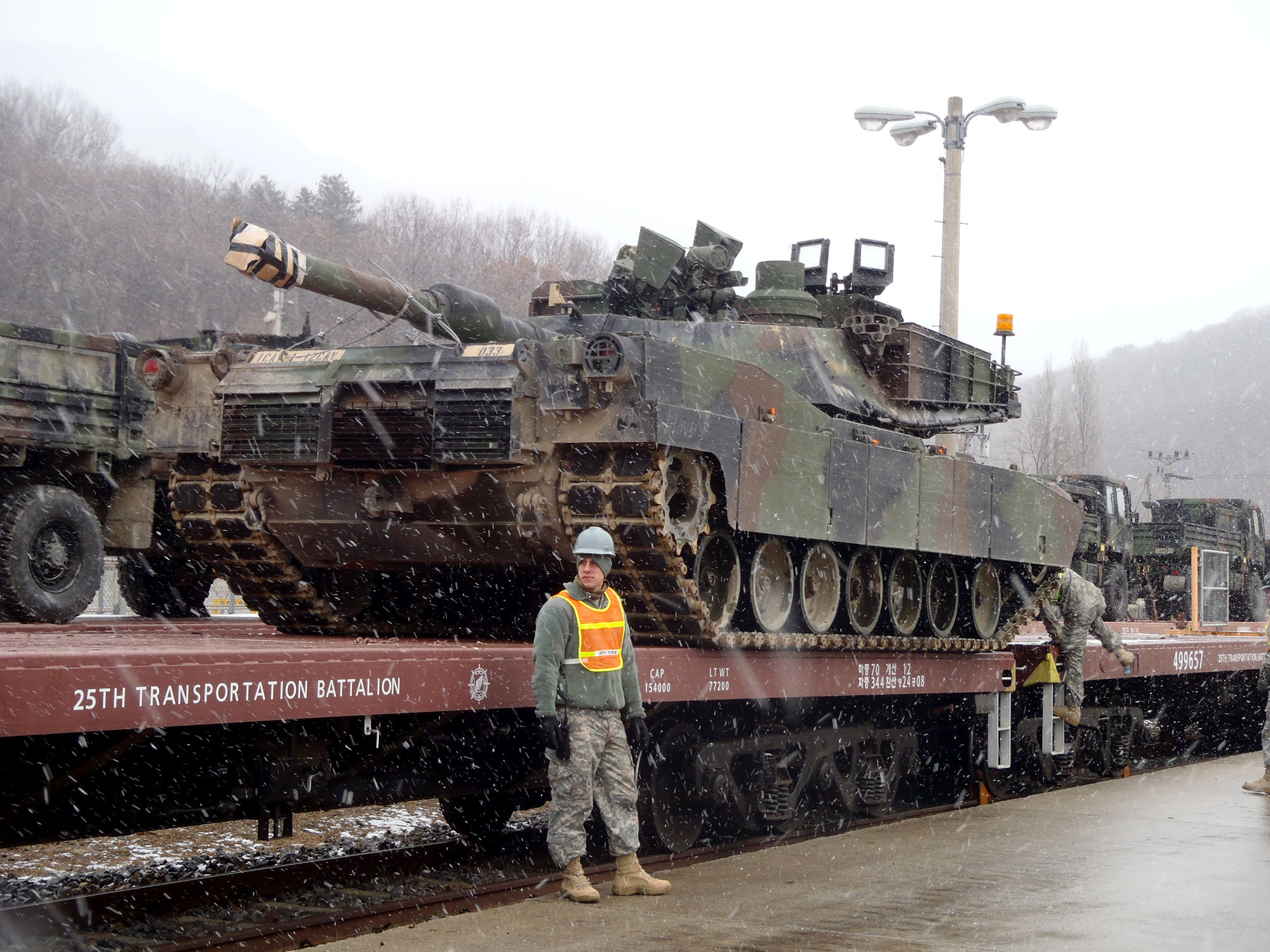 Rail Ops at Camp Casey