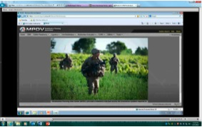 A screen shot from one of the just-in-time videos developed by the RCAS to improve Soldier training. (Image provided by Pete Van Schagen, RCAS Strategic Communications)