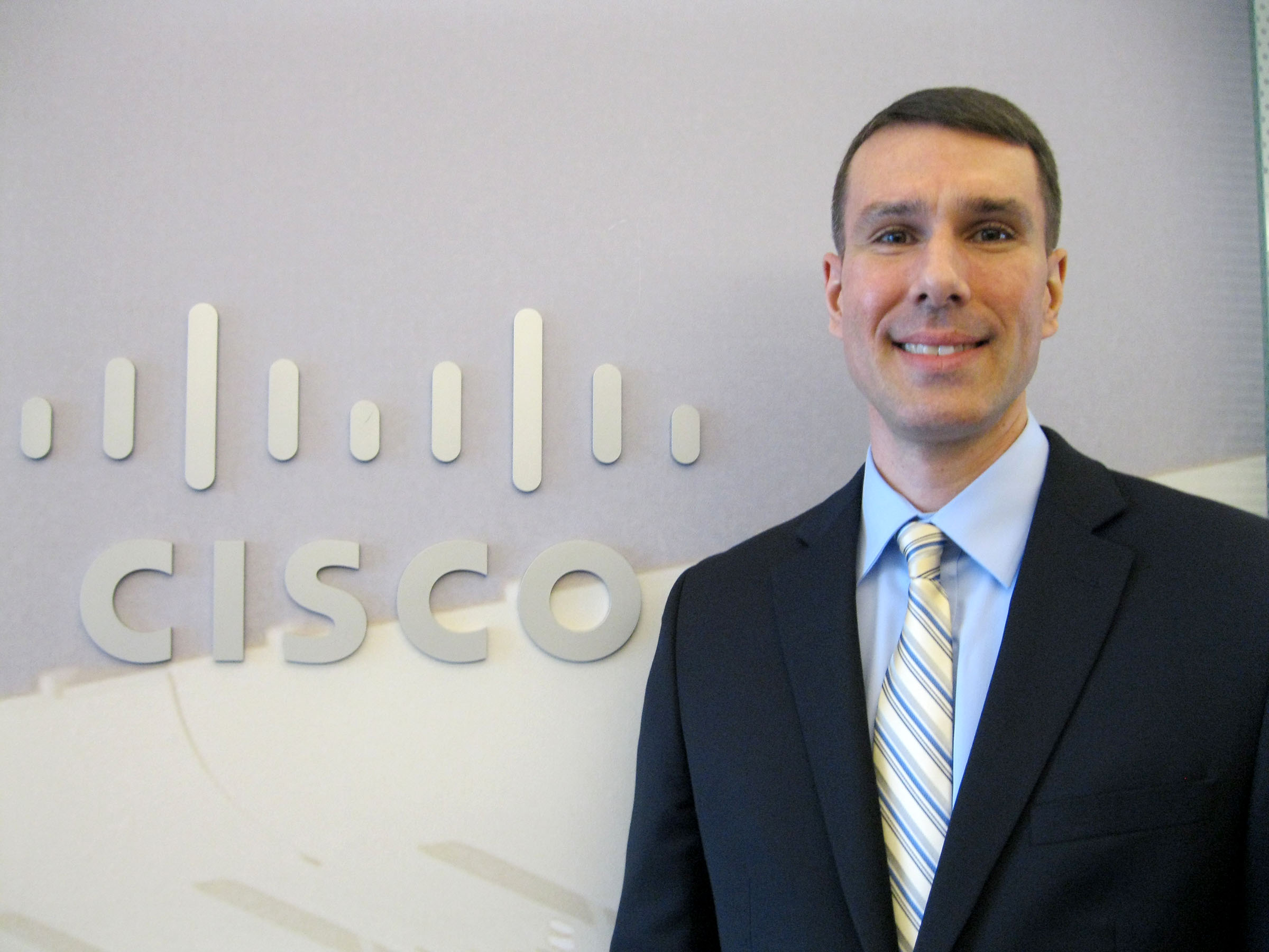 Henderson last year working with Cisco Systems
