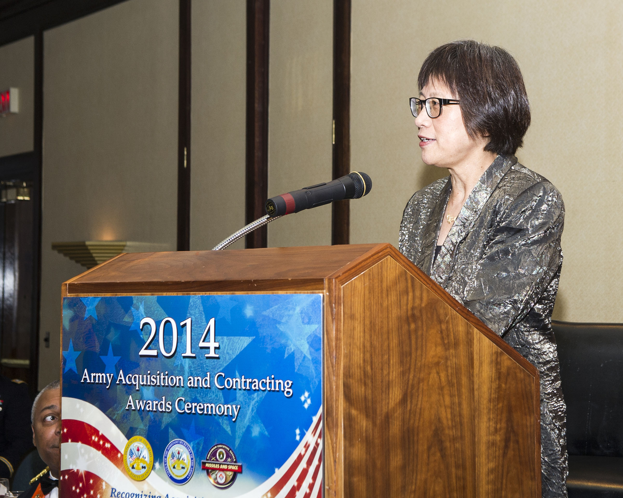 The Army Acquisition Executive, the Hon. Heidi Shyu, honored the winners of the 2014 U.S. Army Acquisition Awards at a ceremony on April 28, 2015, in Huntsville, Alabama.