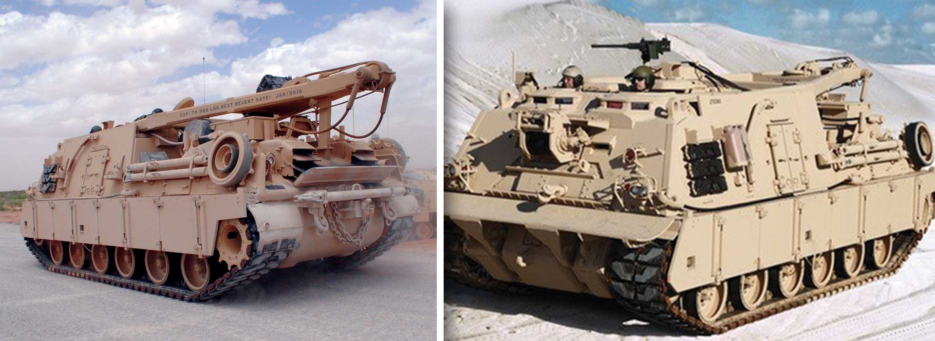 Heavy Equipment Recovery Combat Utility Lift and Evacuation System (HERCULES) Improved Recovery Vehicle — M88A2