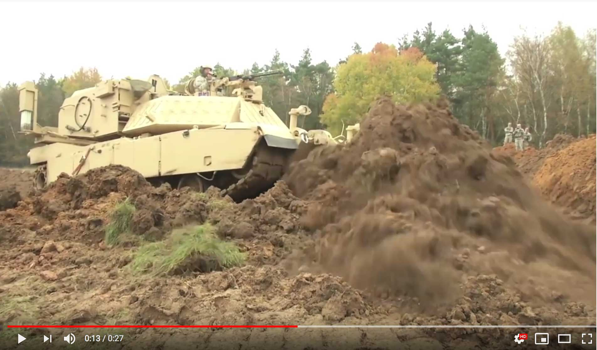 Assault Breacher Vehicle (ABV) video