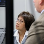 The Hon. Heidi Shyu, the ASA(ALT), toured a CERDEC lab to learn more about the center's Hardware/Software Convergence initiative at APG, Maryland June 16.