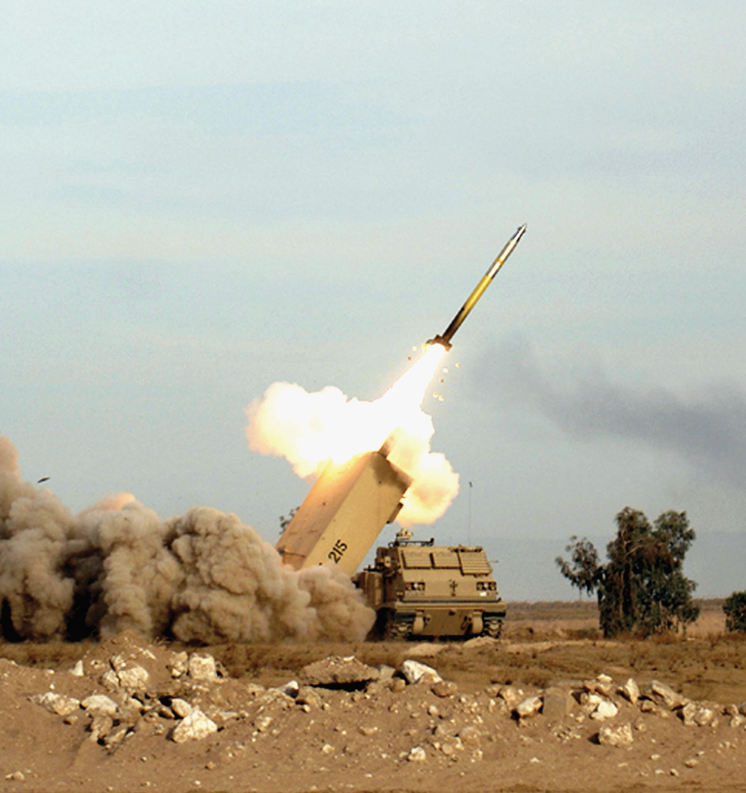 Multiple Launch Rocket System (MLRS) M270A1