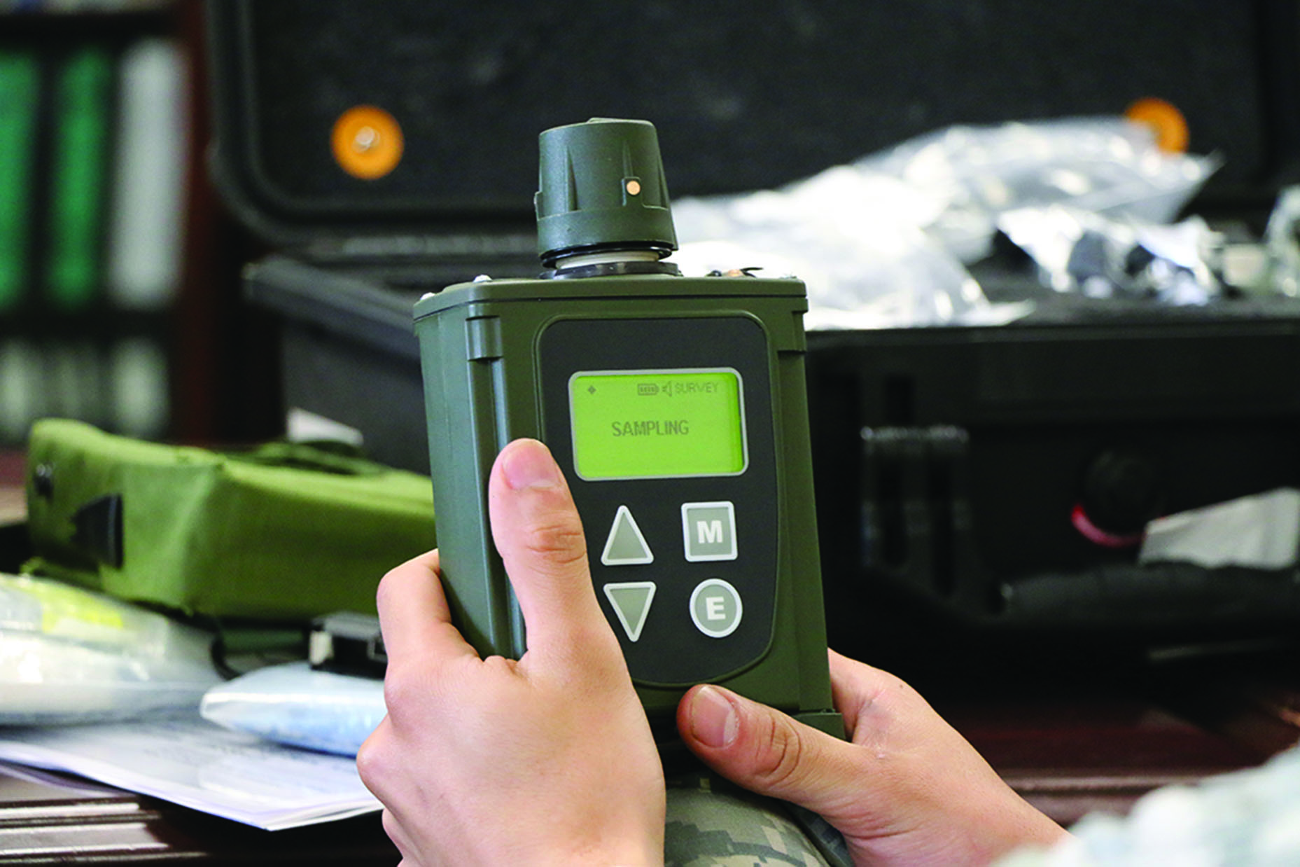 Joint Chemical Agent Detector (JCAD) M4A1