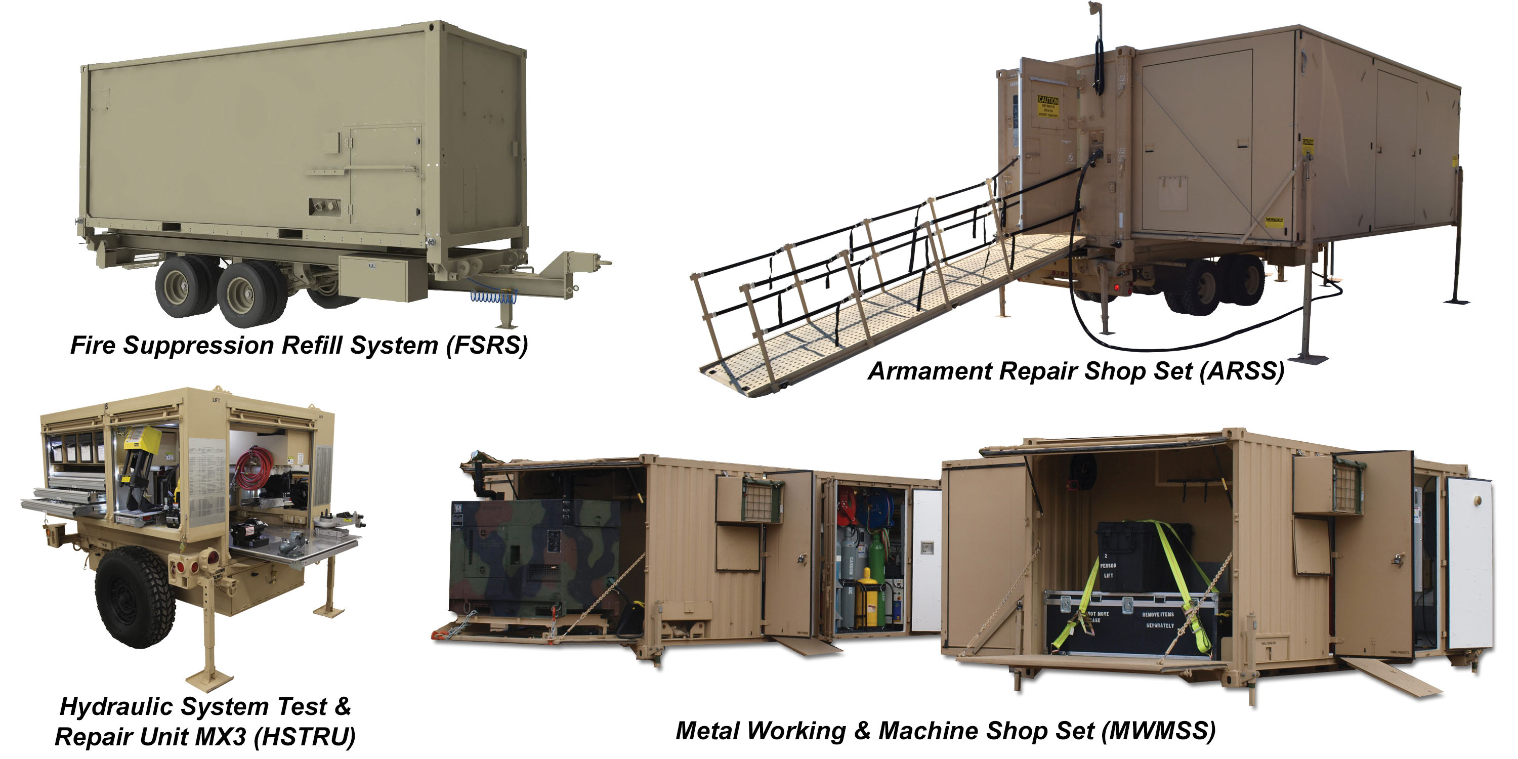 Mobile maintenance equipment systems mmes usaasc for Parlour equipment