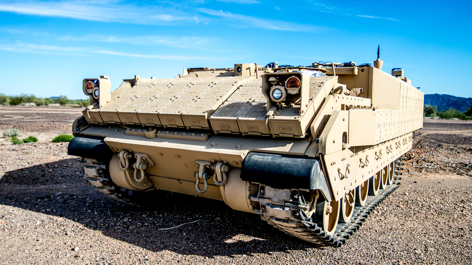 ARMORED, CAPABLE AND VERSATILE