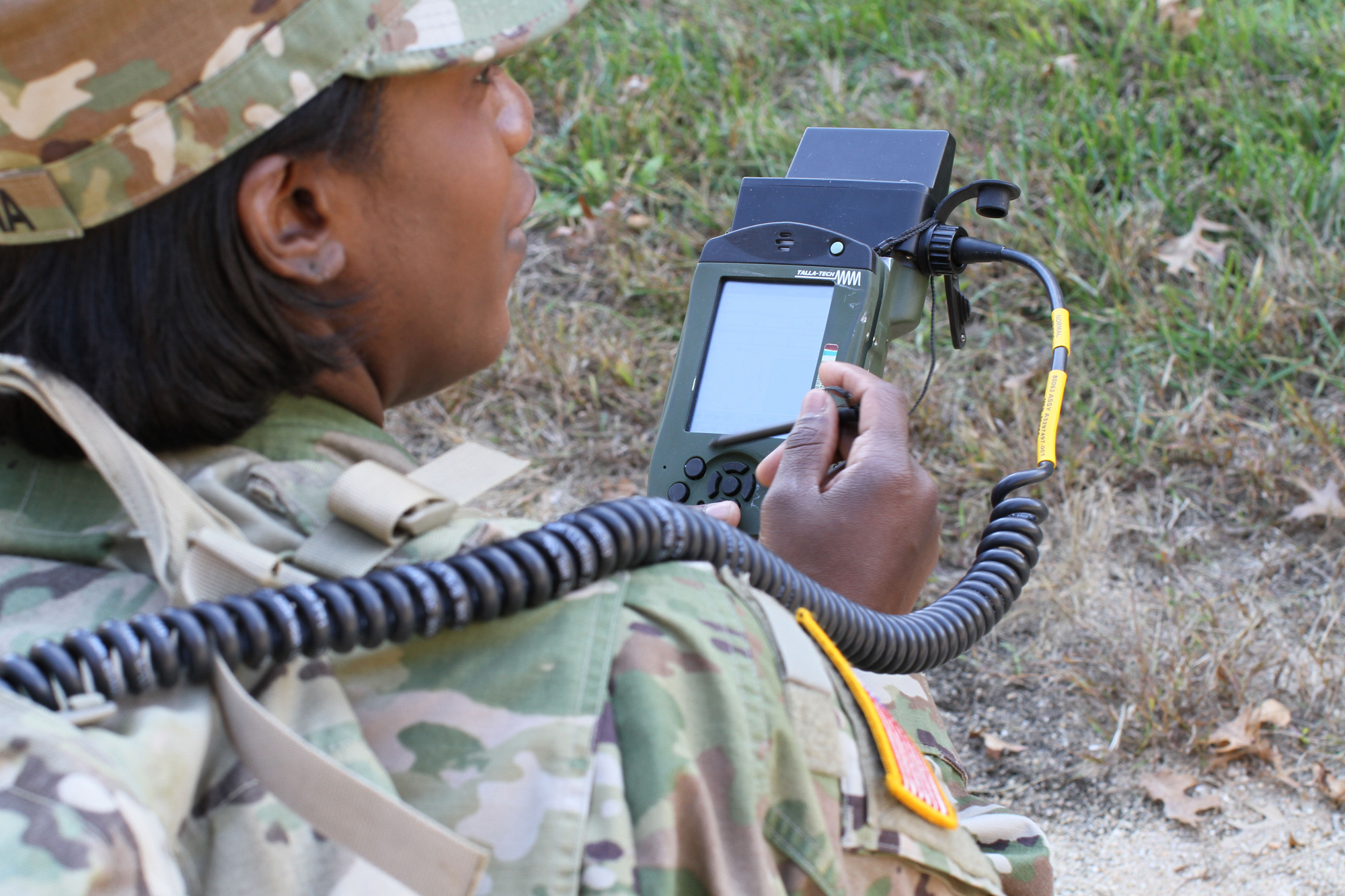 PFEDS, used by forward observers and fire support teams to transmit and receive fires support messages, is one of many mission command systems that could transition into the standard Army supply system.