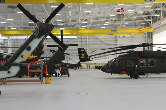 The CERDEC Flight Activity's unique skillset and expertise are regularly leveraged to develop quick-reaction capabilities on Army aircraft and to provide unique post-production modifications for most of the Army's UH-60 and HH-60 Black Hawk fleet. (Photo Credit: Edric Thompson, U.S. Army CERDEC)