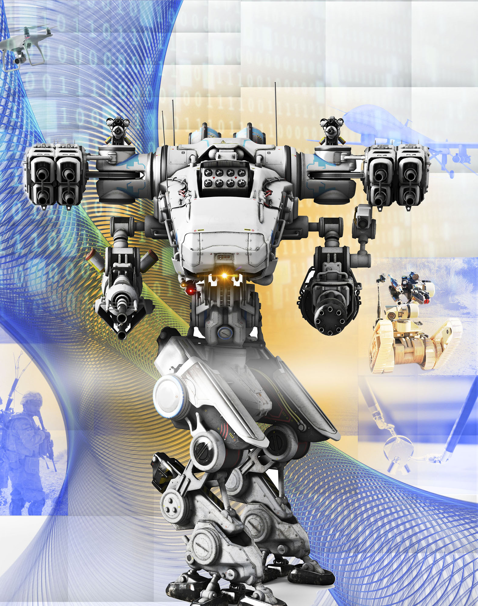 Determining which advances in robotics and AI to pursue is a high-stakes game of predicting the future, improving testing and reducing barriers to entry and innovation. (Image by (USAASC/DigtialStorm/iStock)