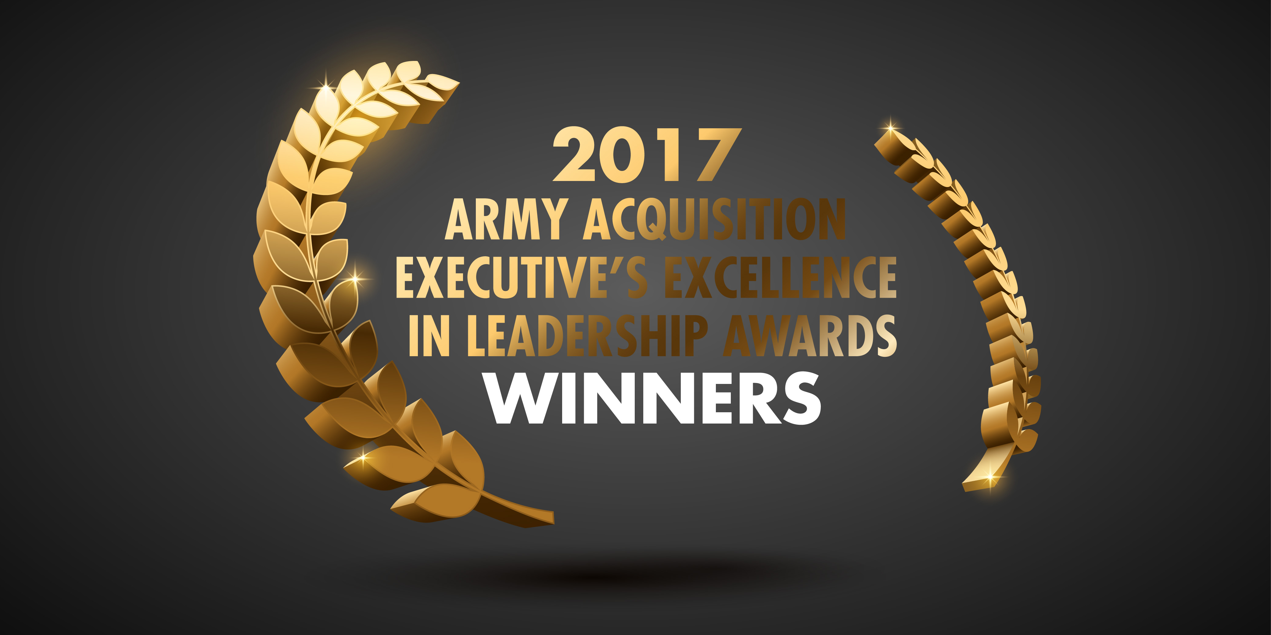 2017 Army acquisition award winners