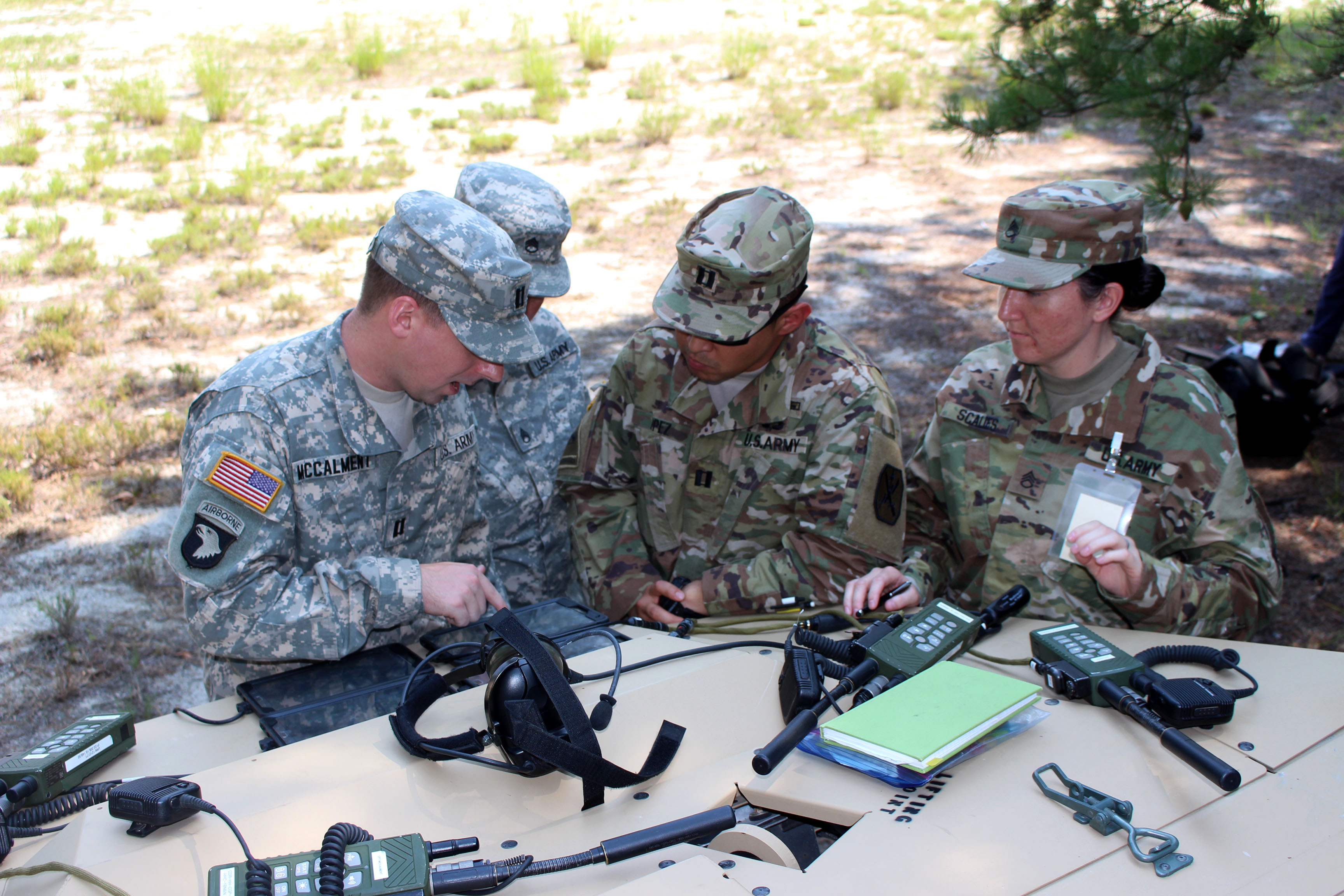 FIELD TRIAL FOR TACTICAL COMPUTING