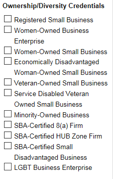 SMALL-BUSINESS FILTERS