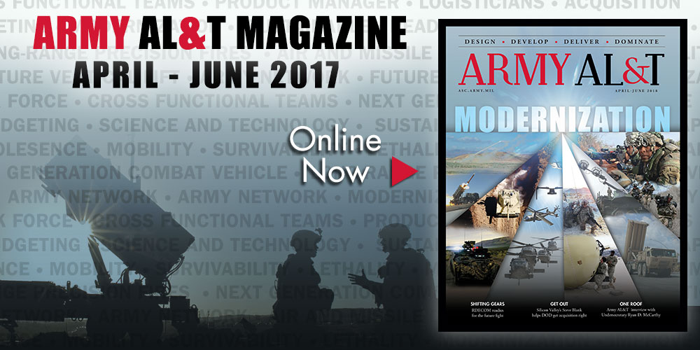 April - June 2108 issue of Army AL&T