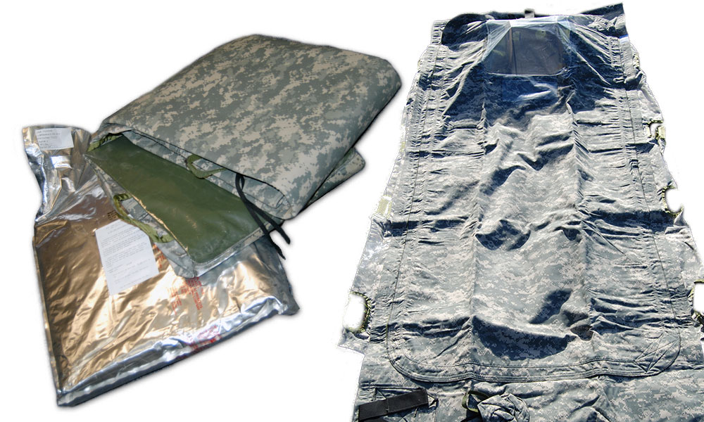 WRAPPING UP CBRN PROTECTION