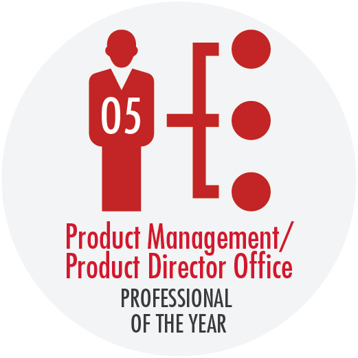 Button - Product Management/Product Director Office Professional of the Year Award (05 Level)
