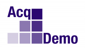 Graphic - AcqDemo logo