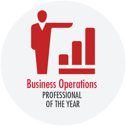 Button - Business operations professional