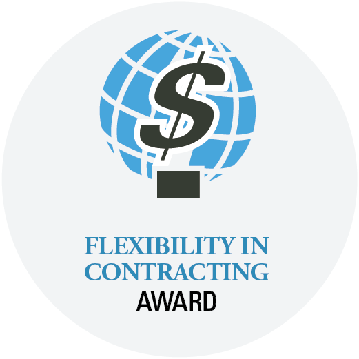 button - Flexibility in contracting award