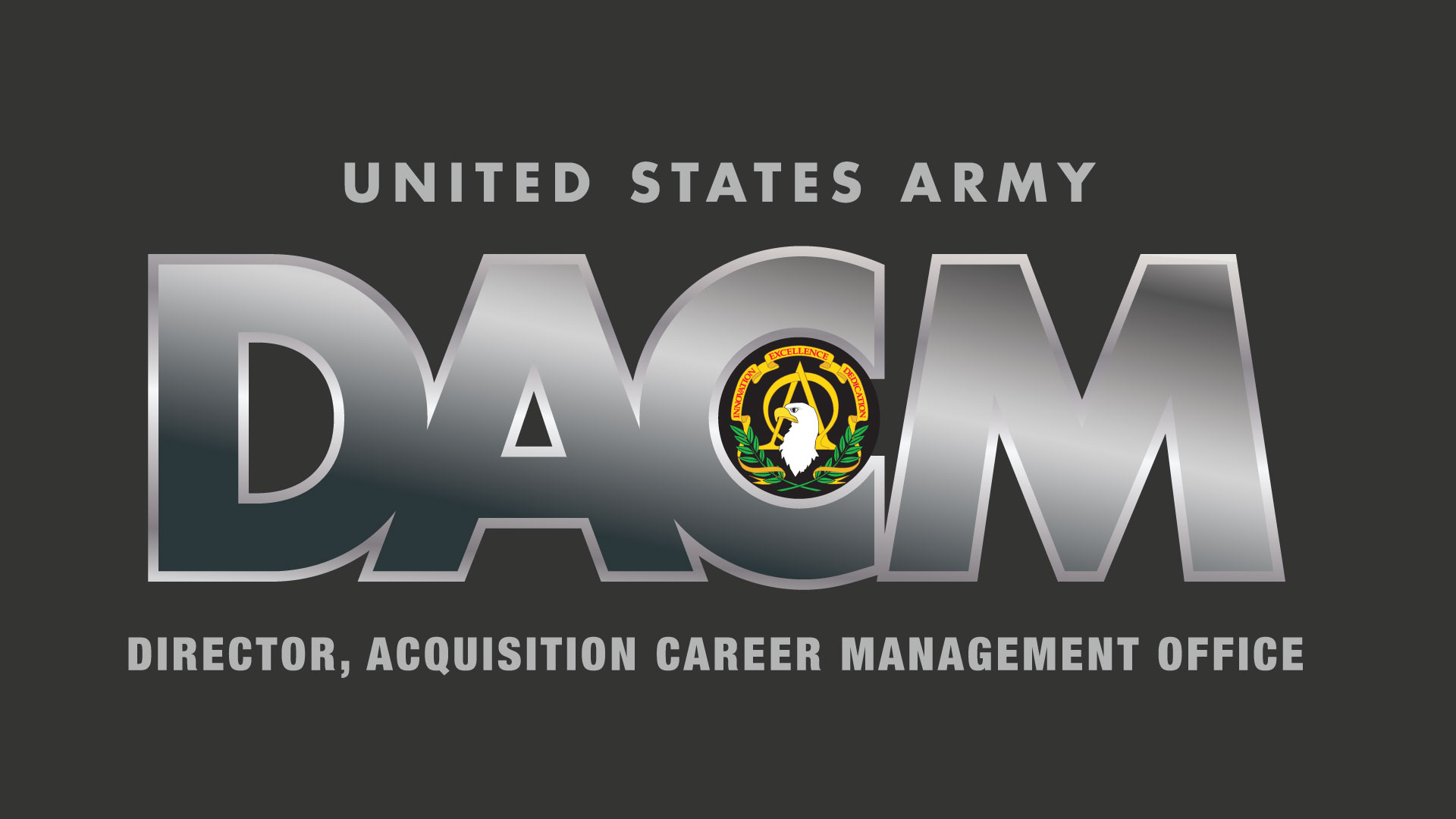 Button: Army DACM Office