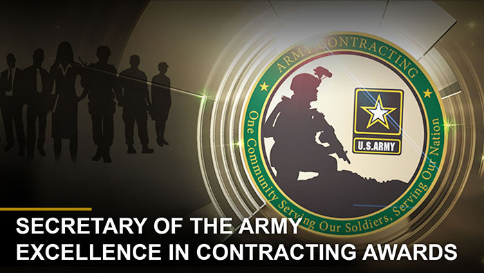 Button: Secretary of the Army Excellence in Contracting Awards