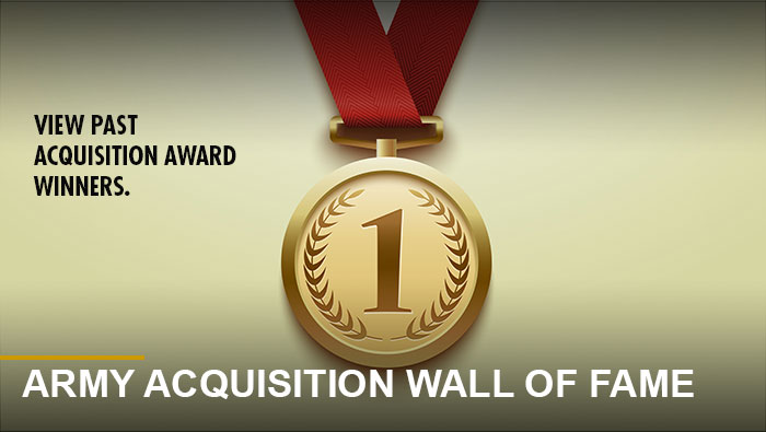 Button: Acquisition award winners