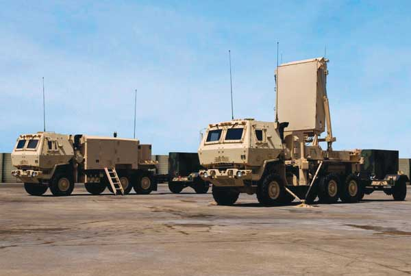 Counterfire Target Acquisition Radar — AN/TPQ-53