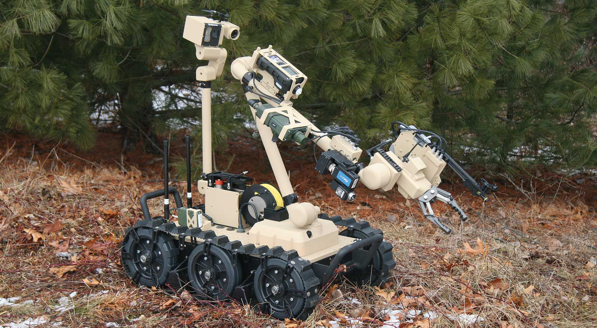 Man Transportable Robotic System Increment II (MTRS Inc II)