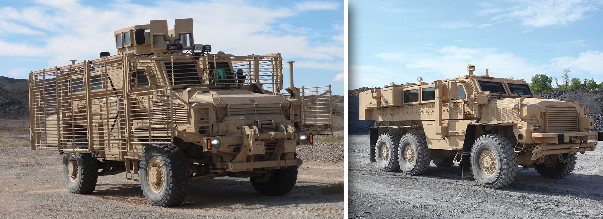 Mine Protection Vehicle Family (MPVF), Mine Clearing Vehicle (MCV), Explosive Hazard Pre-Detonation (EHP)