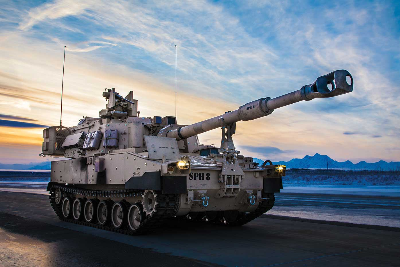 Paladin Family of Vehicles (FOV) — M109A6 Paladin/M992A2 FAASV/M109A7 SPH/M992A3 CAT and Extended Range Cannon Artillery (ERCA)