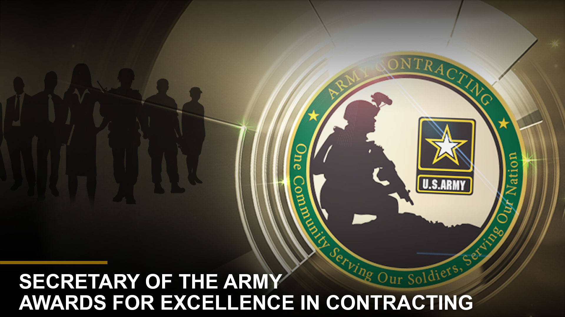 Secretary of the Army Awards for Excellence in Contracting Special Awards