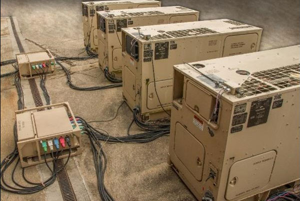 Advanced Medium Mobile Power Source (AMMPS) Microgrid