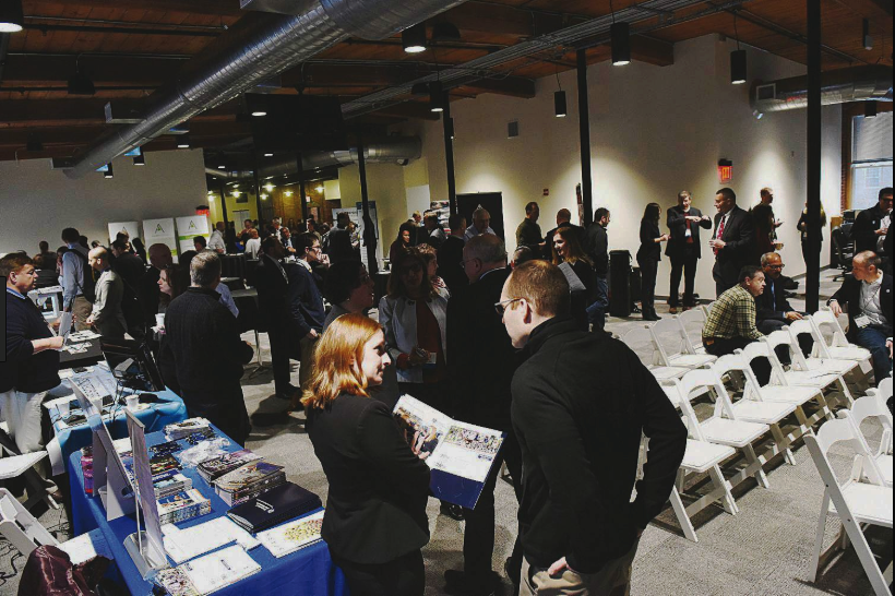 """The Advanced Regenerative Manufacturing Institute/BioFabUSA held its 2018 Fall Summit at ARMI headquarters in Manchester, New Hampshire, September 19-20. With a focus on regulatory as well as education and workforce development initiatives, the summit was intended to promote collaboration among participants and opportunities for networking within the growing """"ecosystem."""" (Photo courtesy of ARMI/BioFabUSA)"""