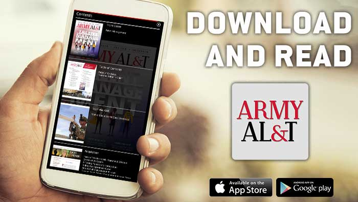Button to Army ALT app downloads
