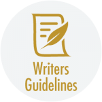 Button for writters guidelines