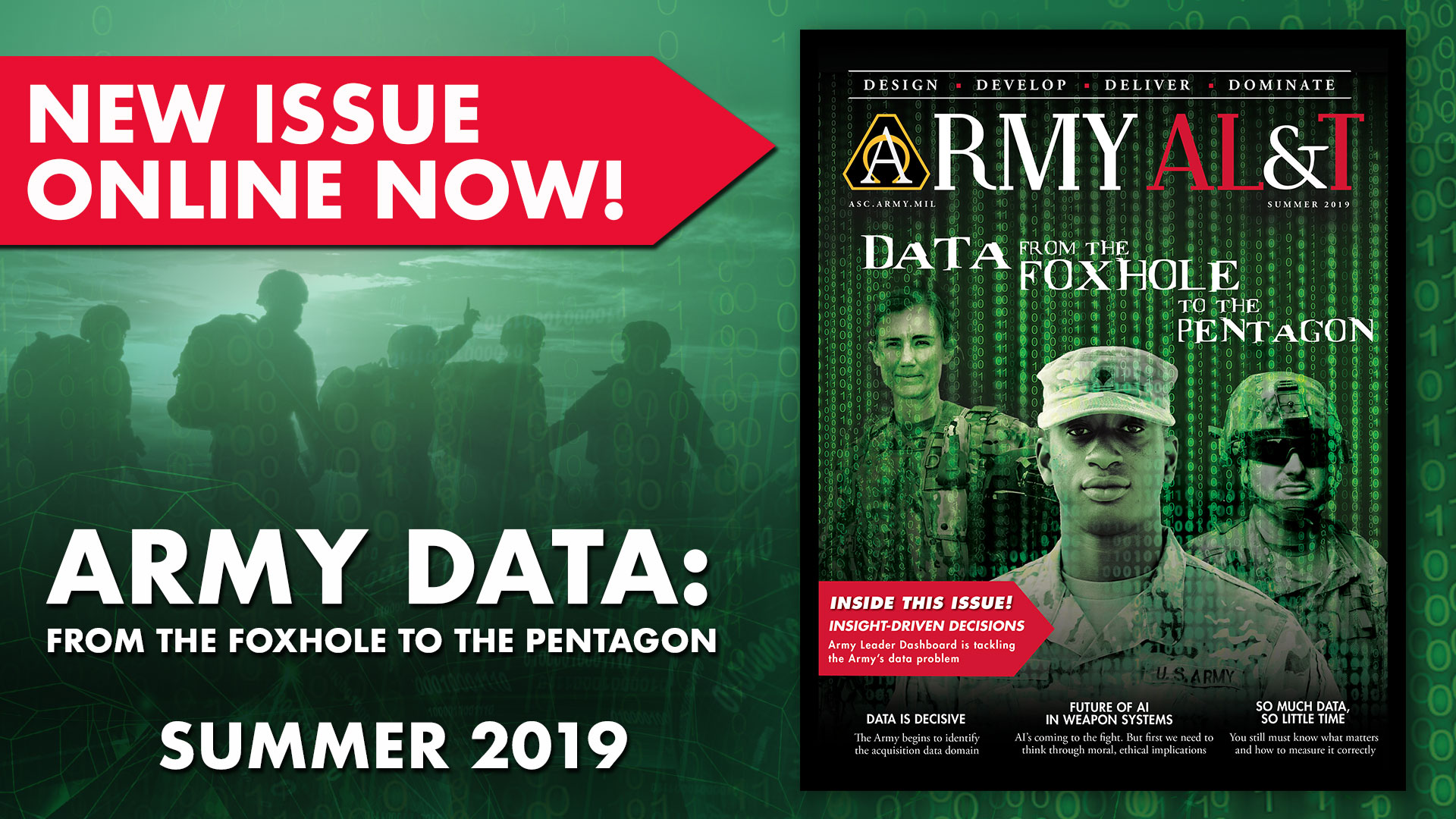 Link to Army AL&T Summer issue