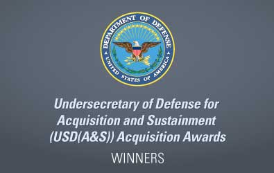 DOD award winners