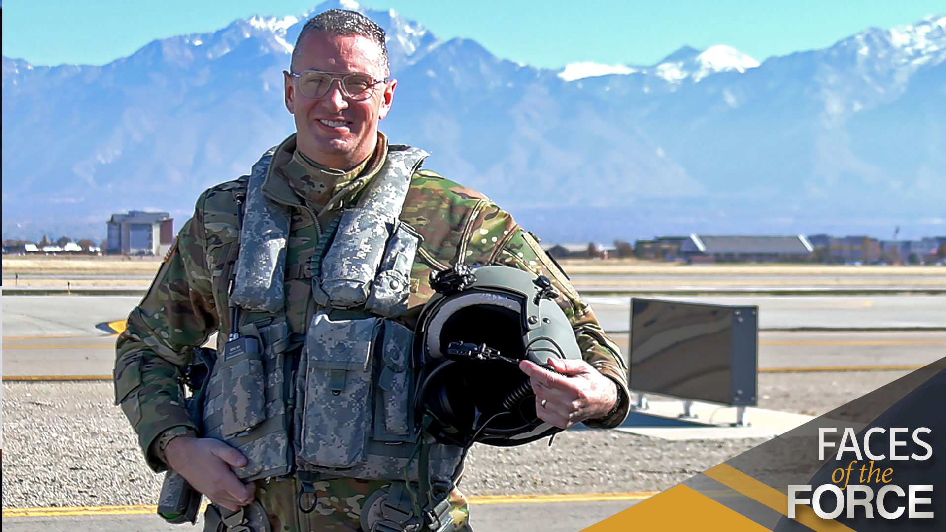 FACES OF THE FORCE: COL. STEVEN R. BRADDOM