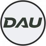 DAU graphic button that when clicked leads to the DAU website.