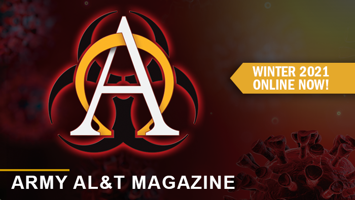Graphic link to Army AL&T Magazine