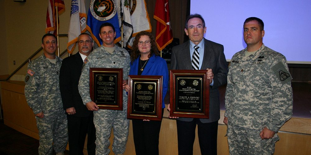 Army honors acquisition and contracting award winners