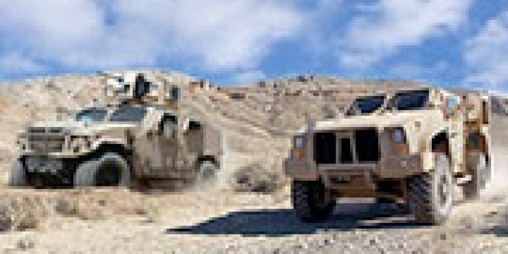 Joint Light Tactical Vehicle team wins Packard Award for acquisition excellence