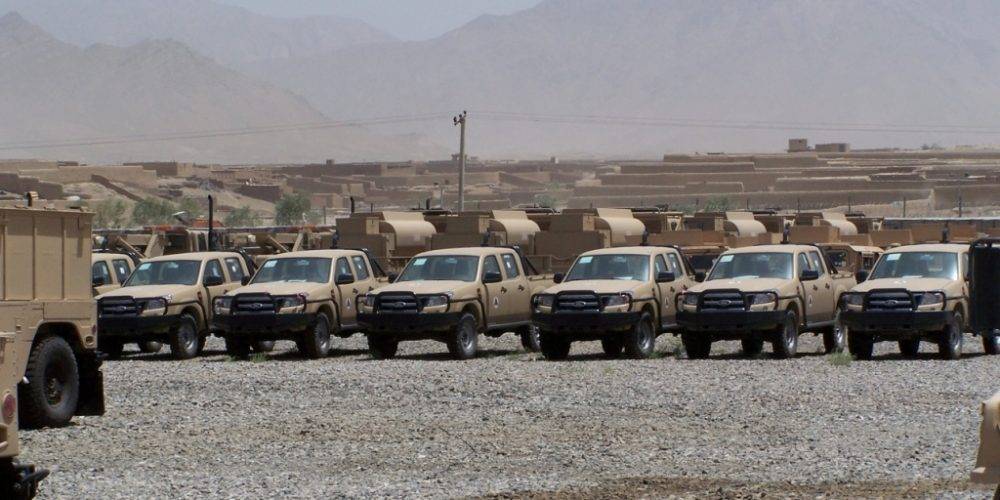 Army's Non-Standard Vehicles Drive the Afghanistan Drawdown