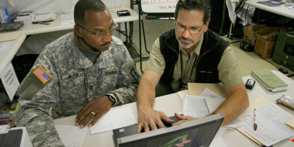 Scenarios Prep Reservists for Medical Records Task in Iraq